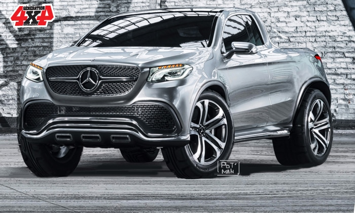 Scoop Mercedes Passe Au Pick Up Generation 4x4 Magazine