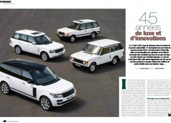 Histoire Range Rover
