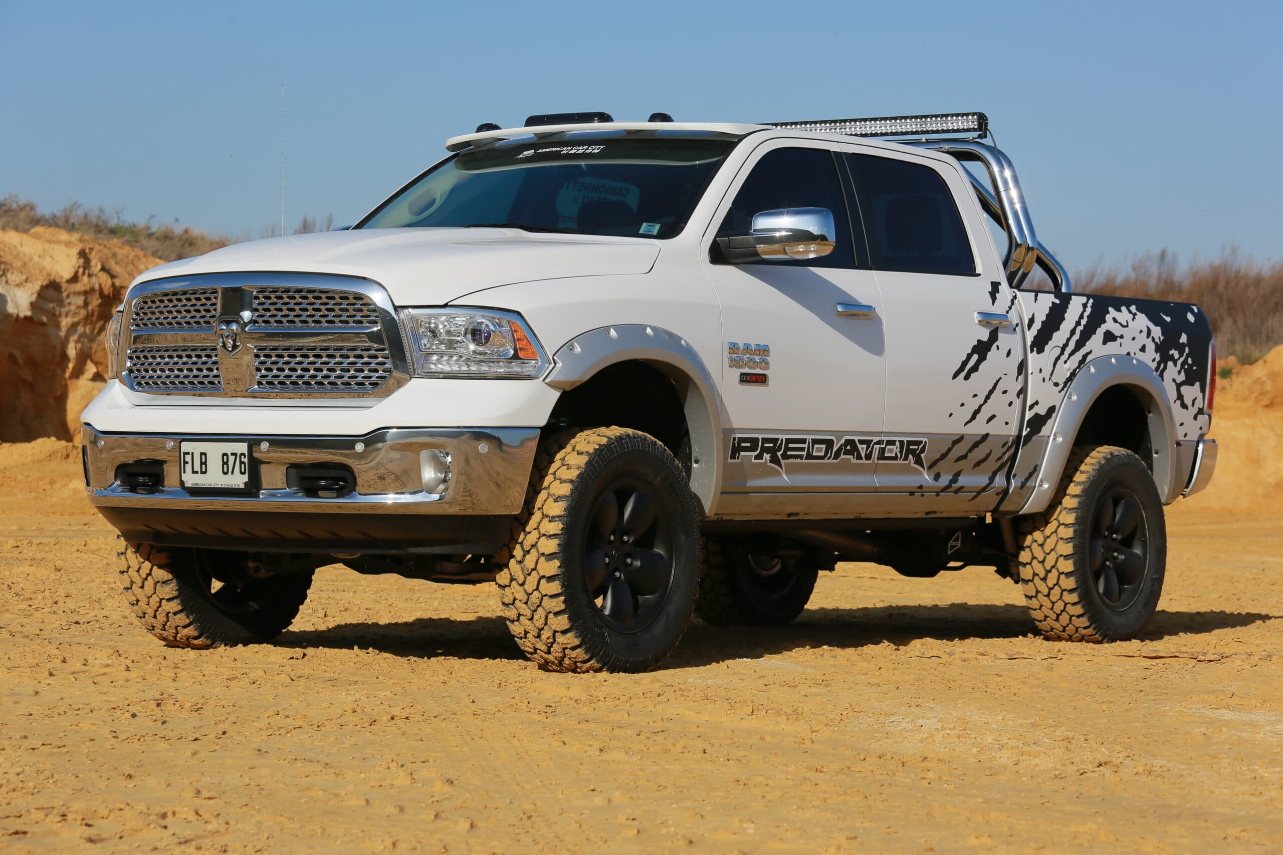 Dodge Ram Predator 1500 EcoDiesel American Car City - Generation 4x4 ...
