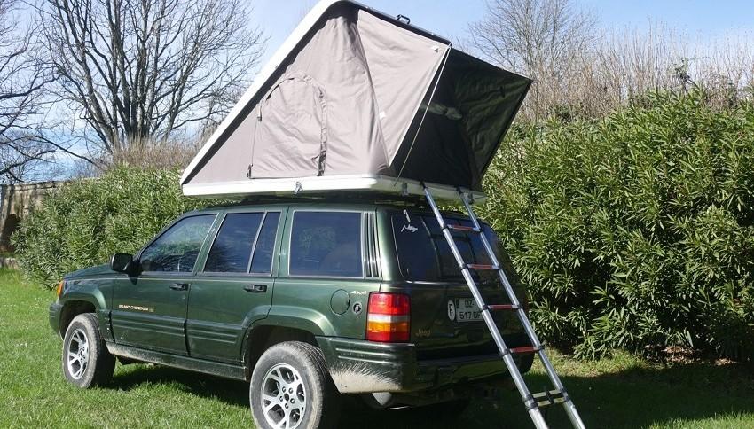 annexe tente de toit trekking generation 4x4 magazine. Black Bedroom Furniture Sets. Home Design Ideas