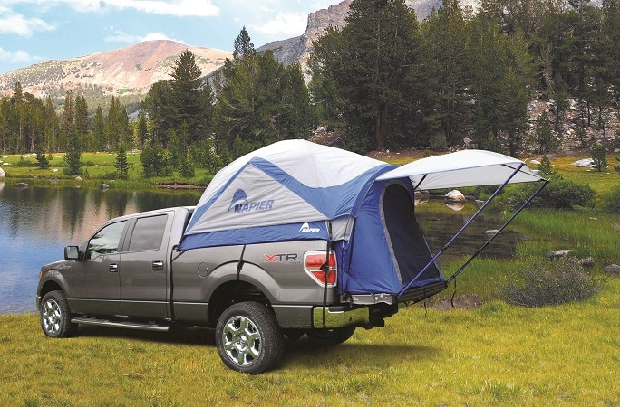 Tentes Napier Pour Pick Up Generation 4x4 Magazine