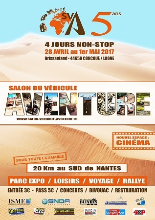 salon du v hicule d aventure du 28 avril au 1er mai 2017 generation 4x4 magazine. Black Bedroom Furniture Sets. Home Design Ideas