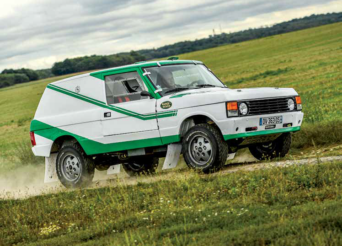 Range Rover V8 AMV Collector d'Aymeric Lefort