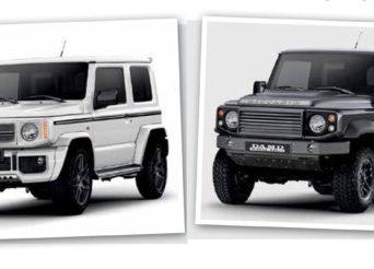 Defender et Mercedes G Style