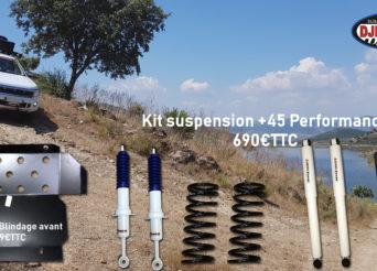 suspensions 4x4