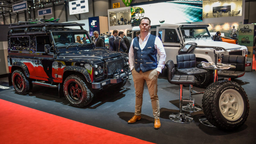 twisted Land Rover