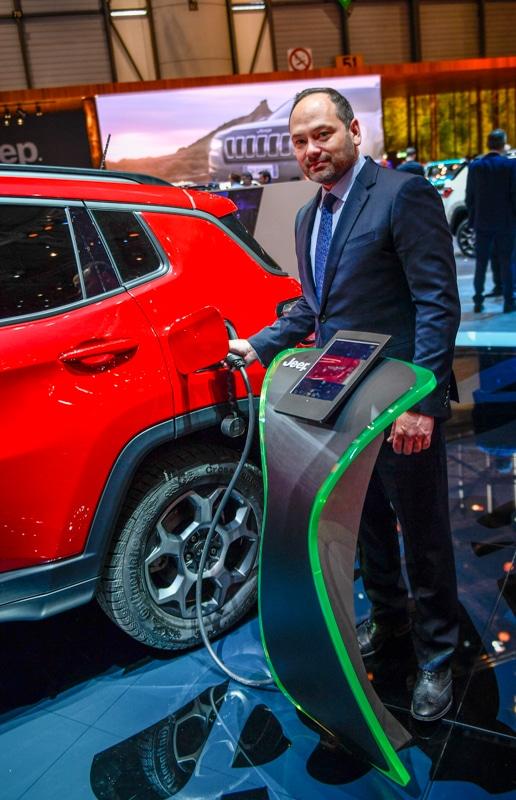 Jeff Himes Head of Jeep Brand Europe