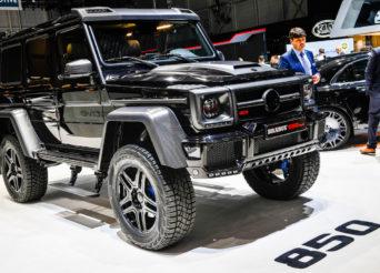Mercedes Brabus 850