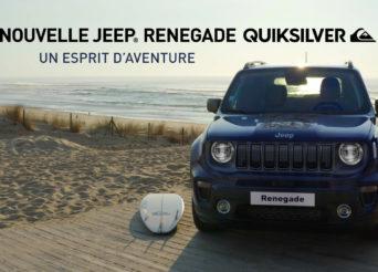 Jeep - Renegade Quiksilver