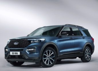 Nouveau Ford Explorer Plug-in Hybrid