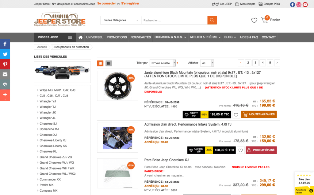 Jeeper Store promotions