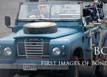 James Bond Land rover