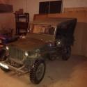 Jeep Hotchkiss 24V 1962 + remorque
